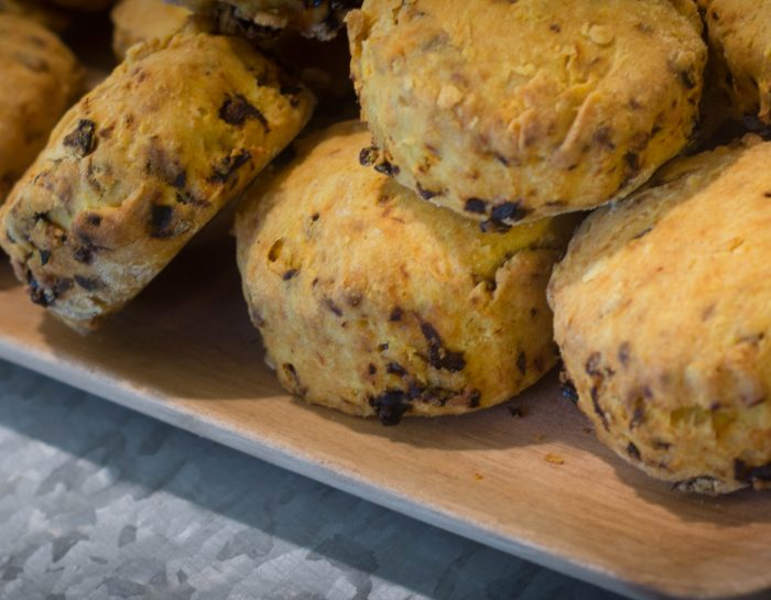 Savoury Vegan Sun-dried Tomato Scones